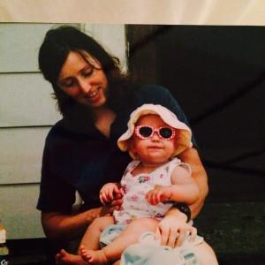 Nita with baby Ella